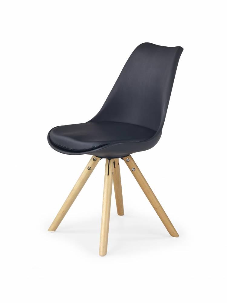 Jedálenská stolička K201 (čierna)
