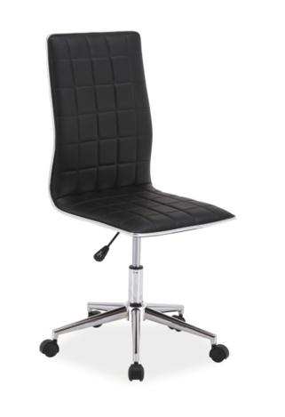 Kancelárska stolička Q-017 čierna