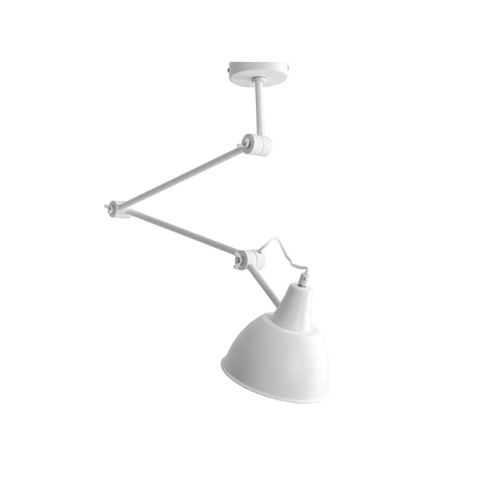 Biele závesné svetlo Custom Form Coben