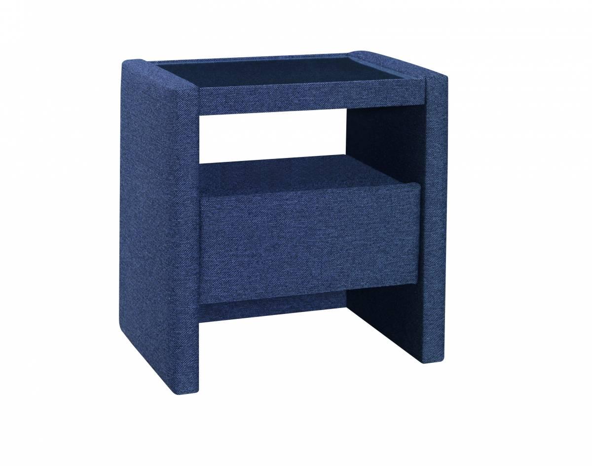 PreSpánok Hannah - čalúnený nočný stolík 51x50x40 cm cm