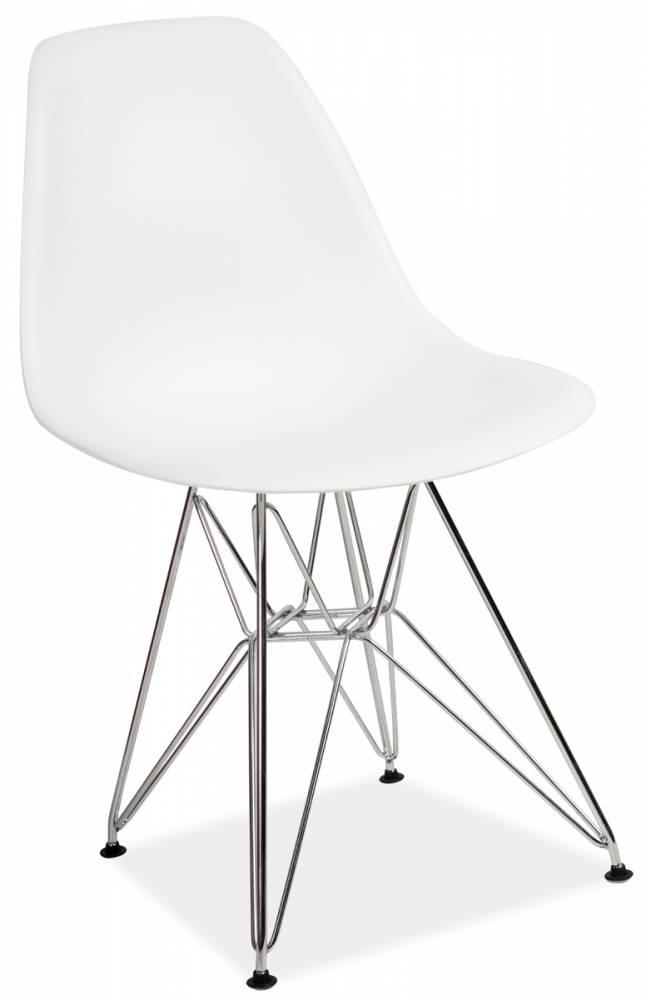LENO stolička, biela