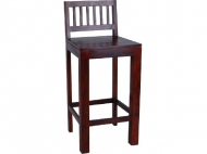 Furniture nábytok  Masívna barová stolička z Palisanderu  Dárjúš  45x45x105 cm