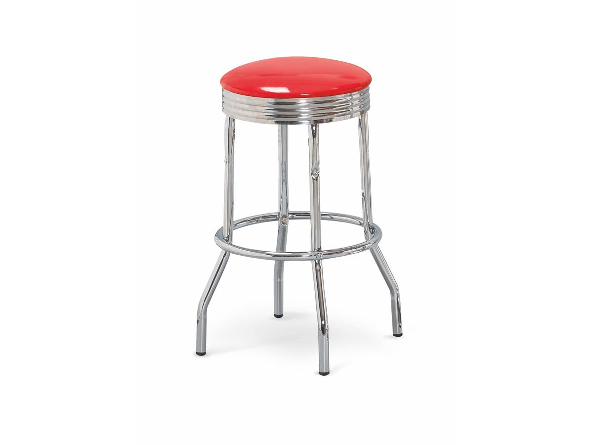 Barová stolička H-73 (červená)