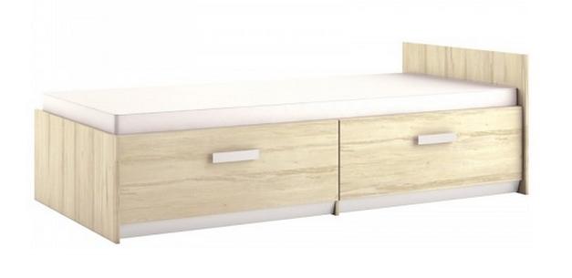 Detská posteľ BEST 17 / breza   Farba: breza / biela ,,LINEA