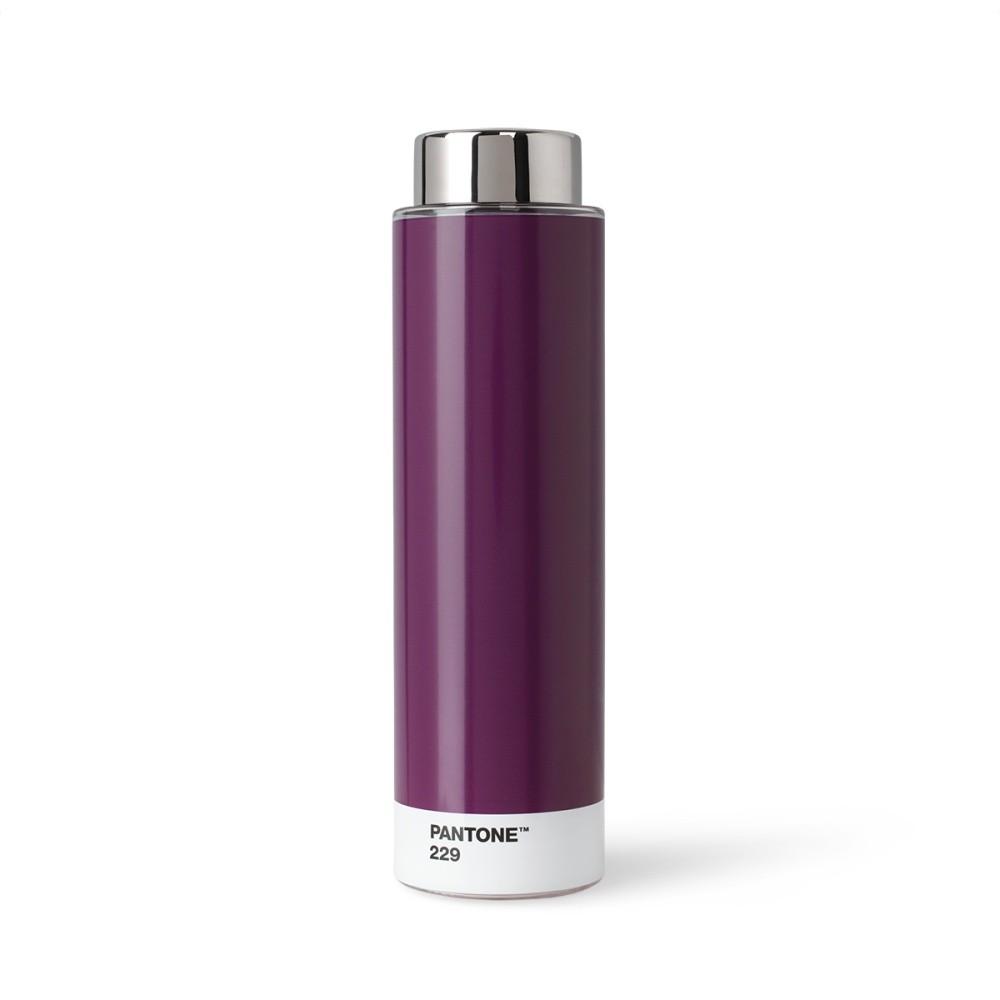 Tmavofialová fľaša z tritanu Pantone, 500 ml