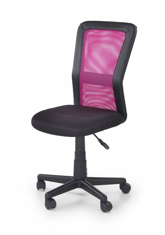 Detská stolička Cosmo (čierna + ružová)