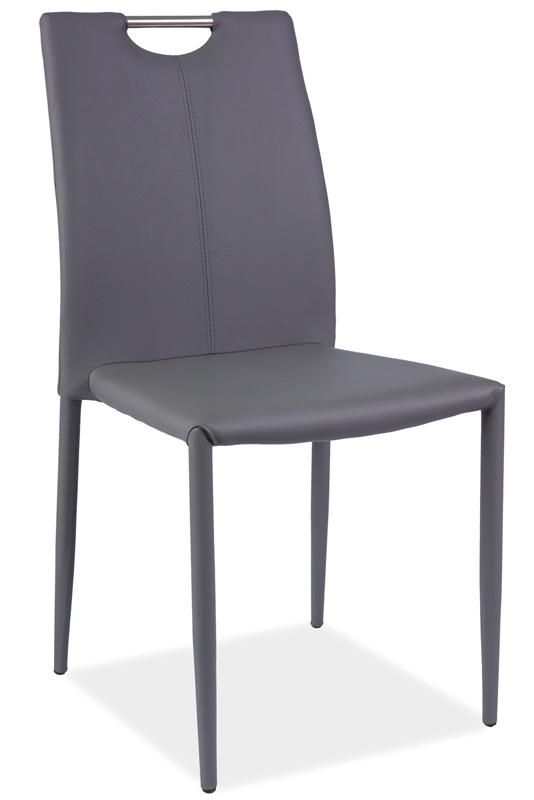 Jedálenská stolička HK-322, šedá