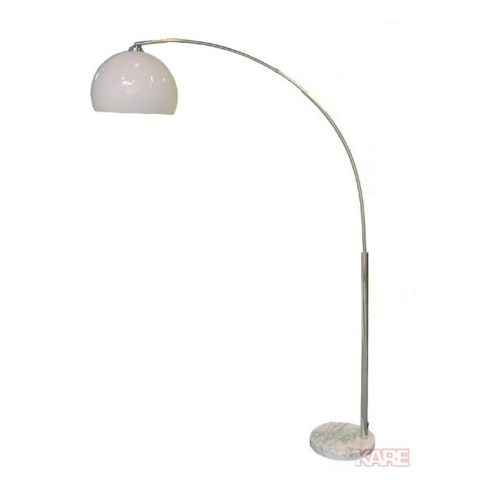 Stojacia lampa s mramorovou základňou Kare Design Deal