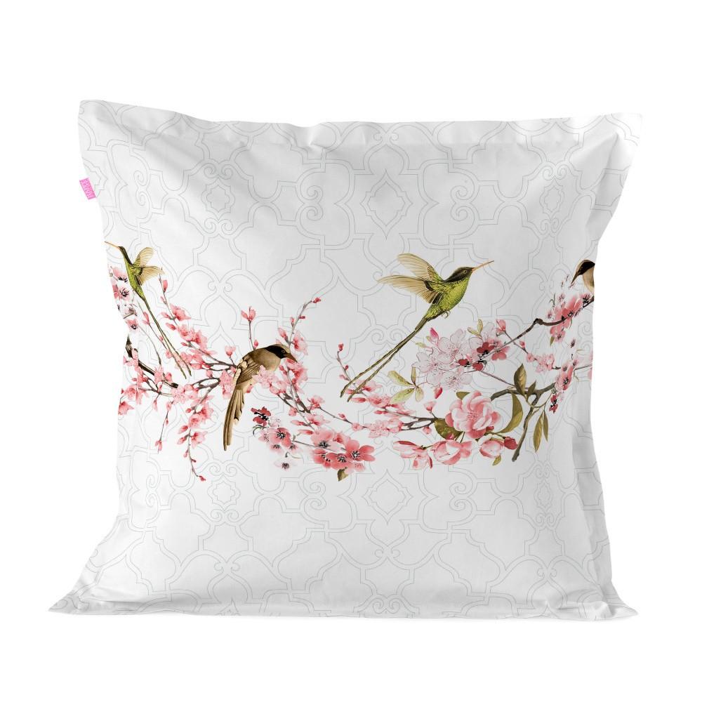 Bavlnená obliečka na vankúš Happy Friday Cushion Cover Sakura, 60 × 60 cm