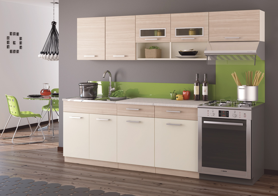 Kuchyňa MOREEN II 240, cocobolo