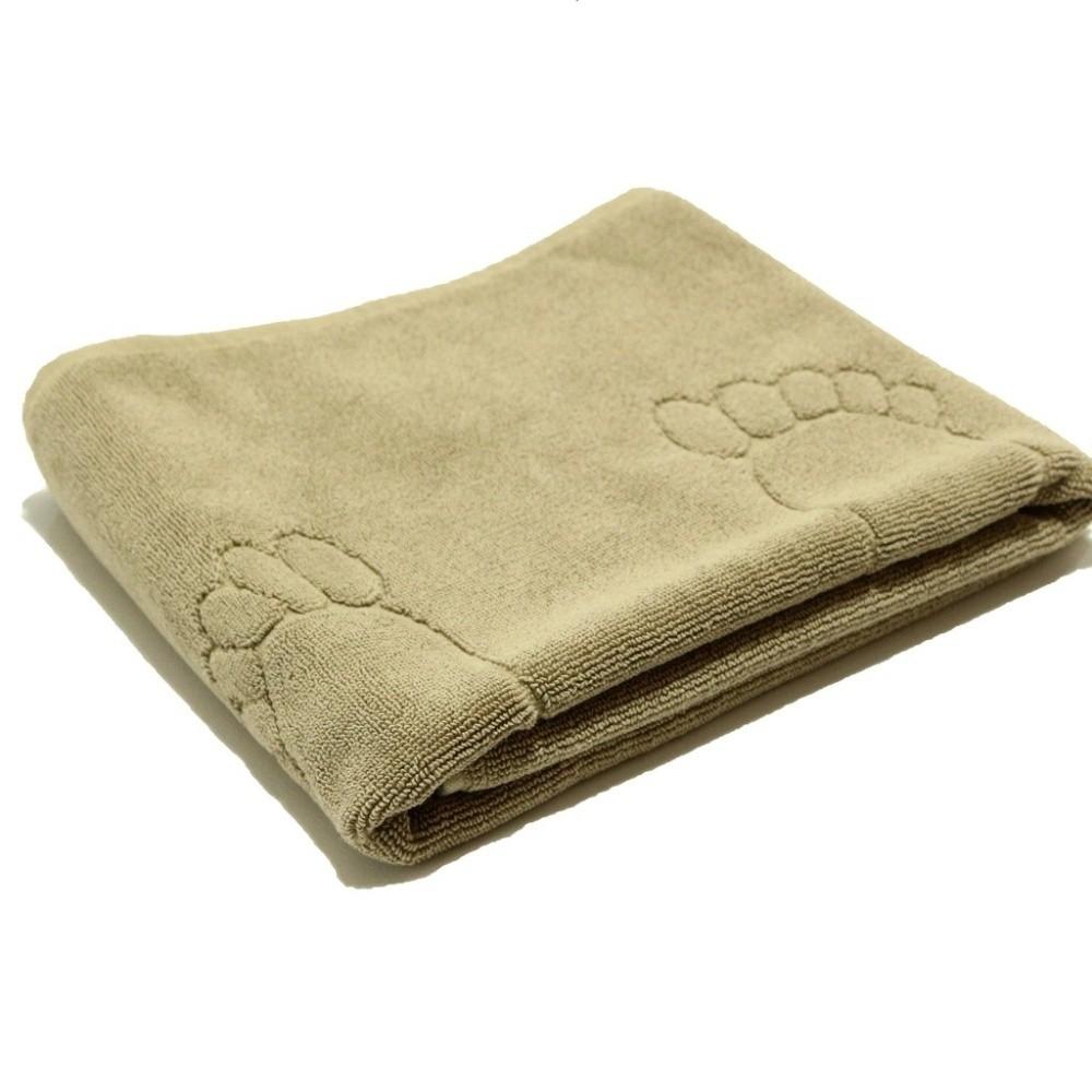 Béžový bavlnený uterák My Home Plus Relax, 55×95 cm
