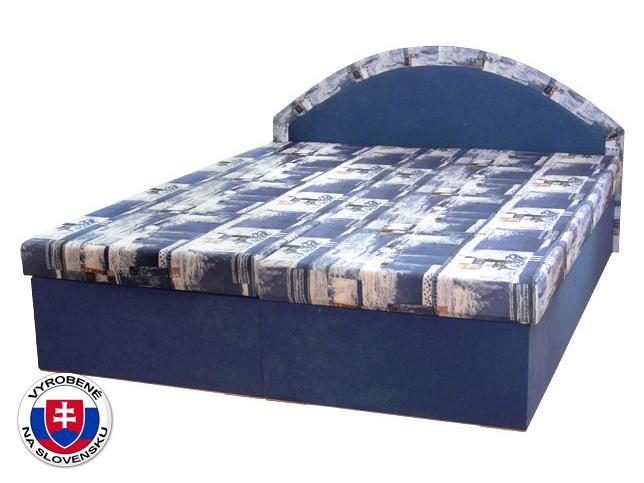 Manželská posteľ 160 cm Edo 7 (s pružinovým matracom)