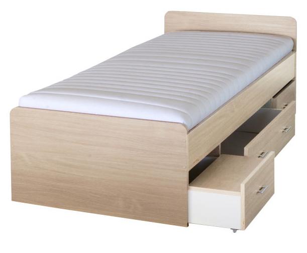 Jednolôžková posteľ 90 cm Duet 80262 javor 23