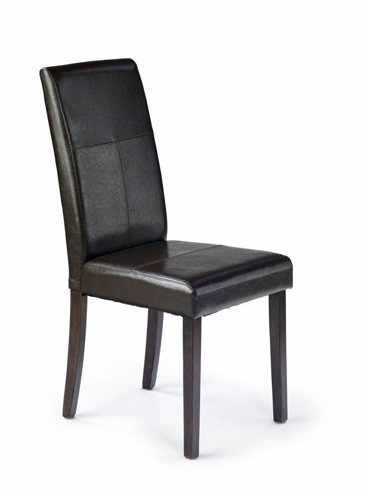 Jedálenská stolička Kerry Bis tmavohnedá