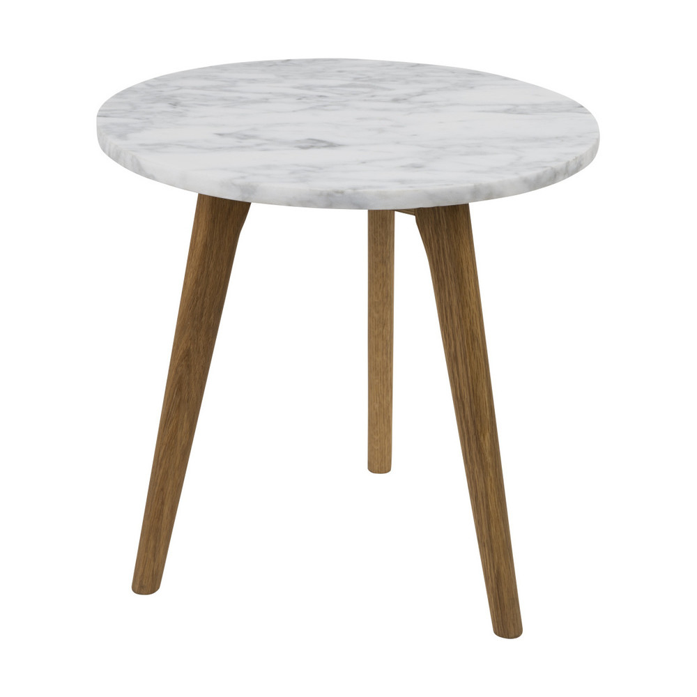 Odkladací stolík White Stone, 40 cm