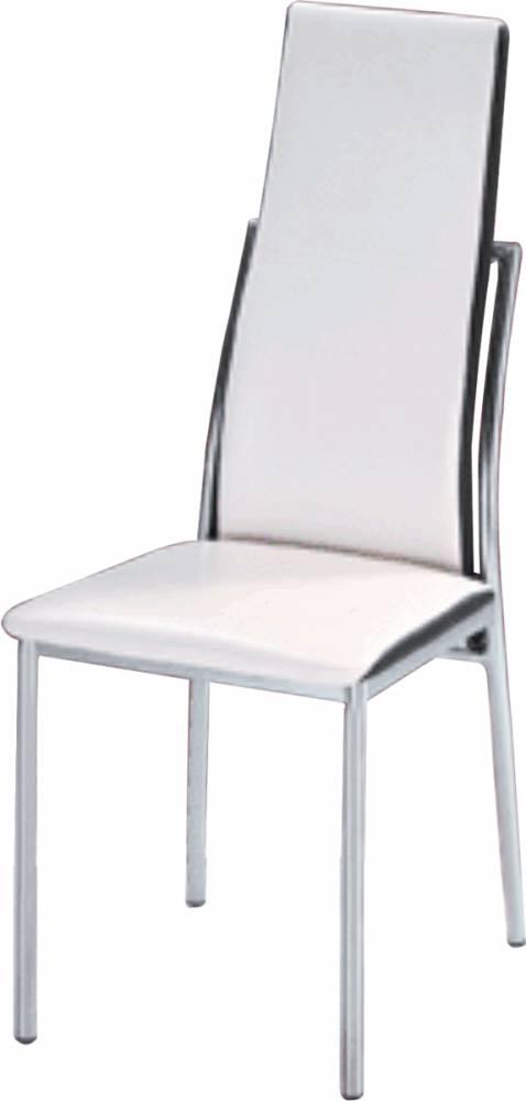 Jedálenská stolička Zora biela