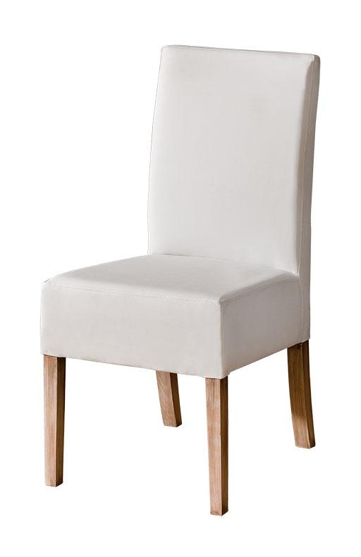 Jedálenská stolička CARMELO C23   Farba: Biela