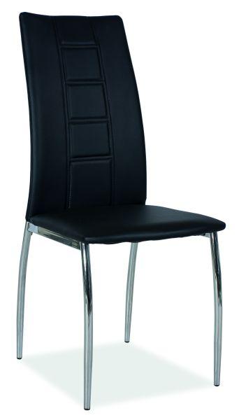 Jedálenská stolička H-880 čierna