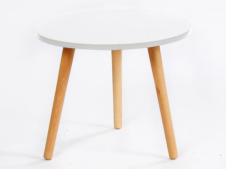Konferenčný stolík Bazzy 2 (biela)