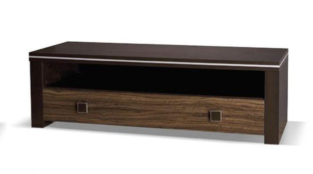 Televízny stolík WINNER 150, 47x150x50 cm, wenge/oliva