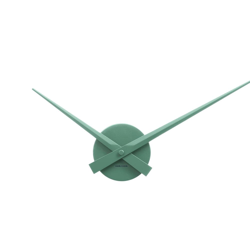 Zelené nástenné hodiny ETH Time Mini