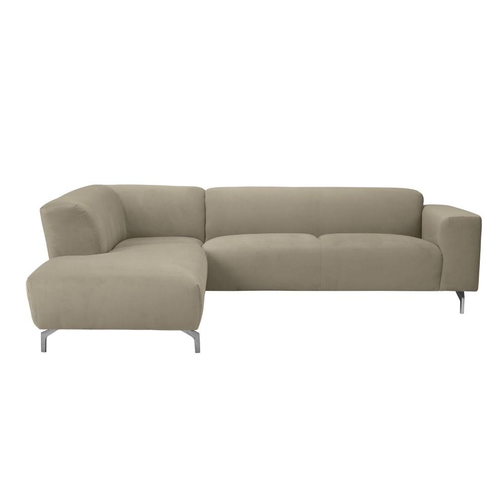 Rohová pohovka v prírodnej farbe Windsor & Co Sofas Orion, ľavý roh
