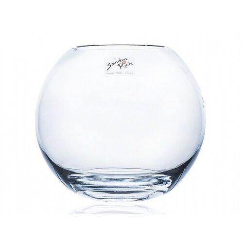 Sklenená váza Globe, 15,5 x 14 cm