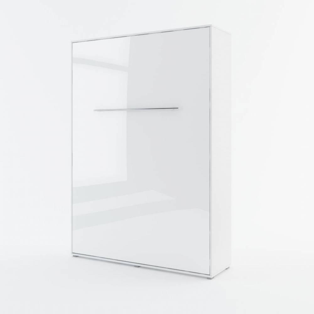 Sklápacia posteľ KOMFORT PRO CP-01, biely lesk