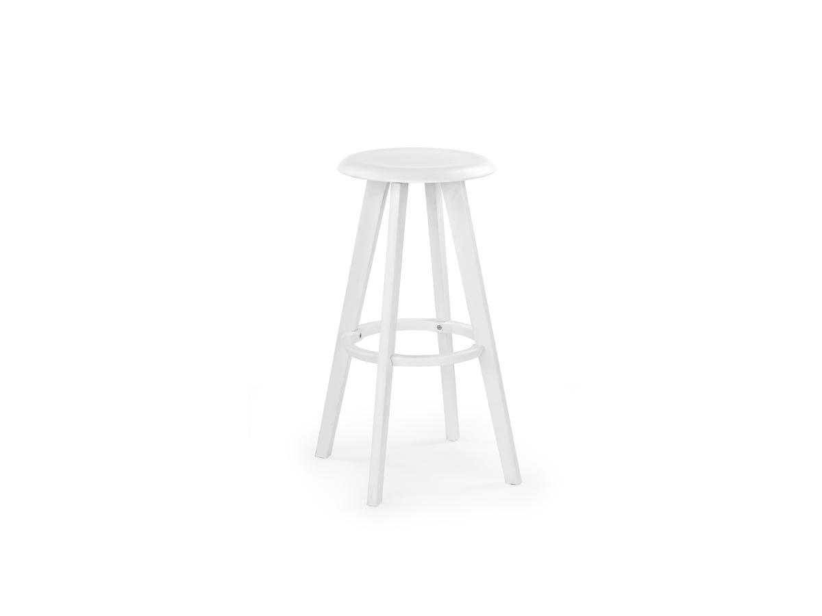 Barová stolička H-77 (biela)