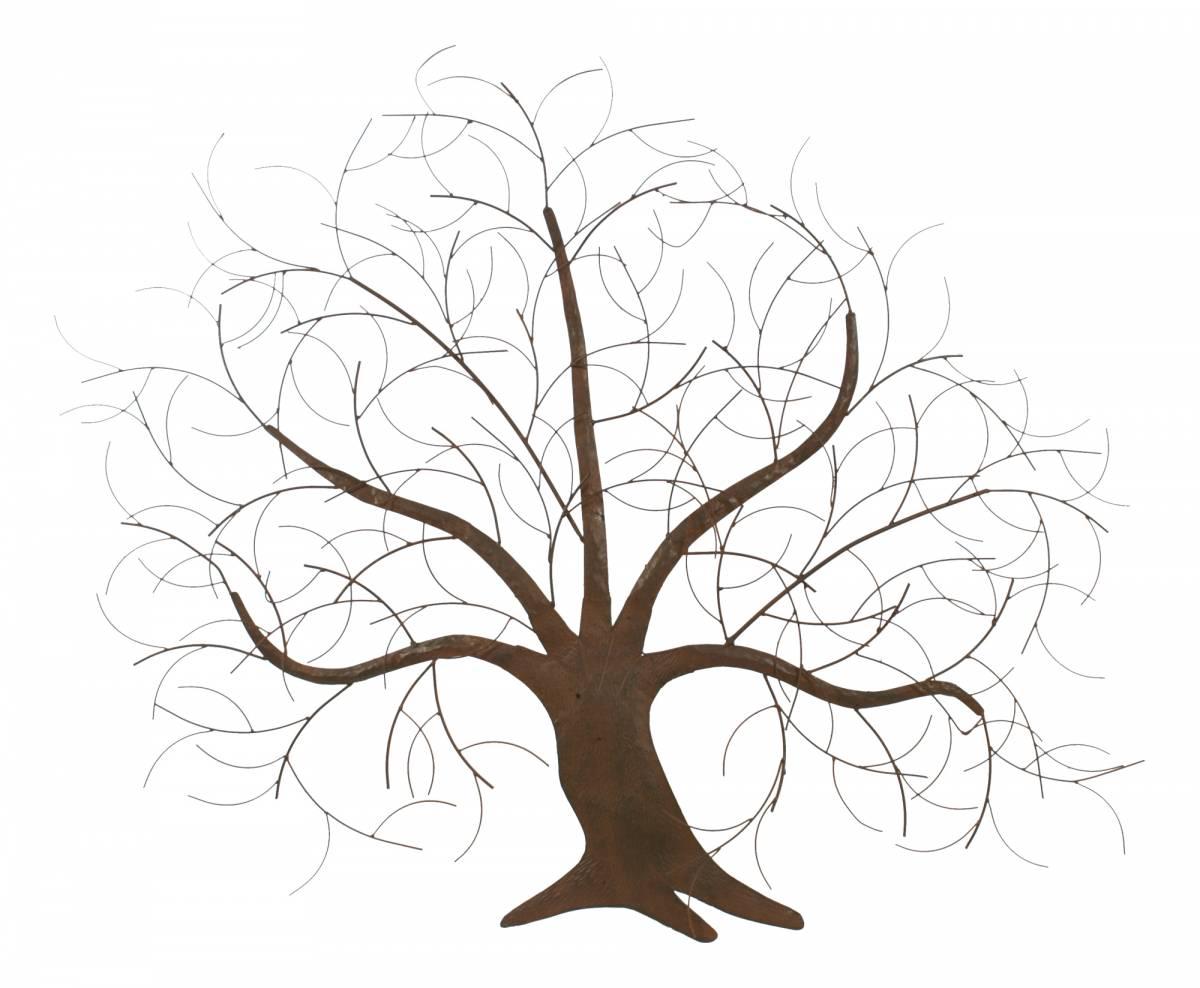 Nástenná dekorácia - strom FA10-468