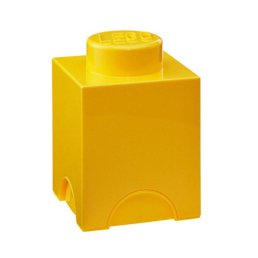 Žltý úložný boxík LEGO®