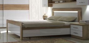 MENHETEN posteľ s úložným priestorom L140P