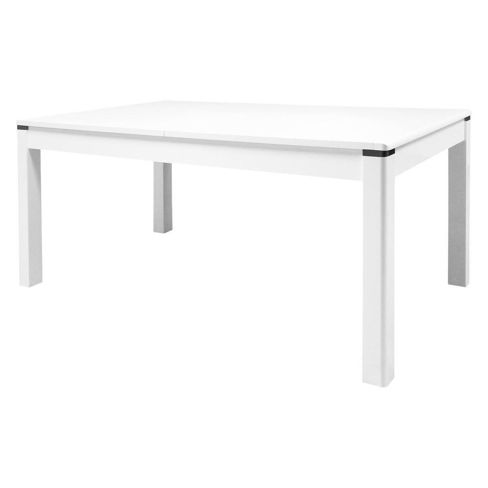 Biely rozkladací konferenčný stôl Artemob Newport