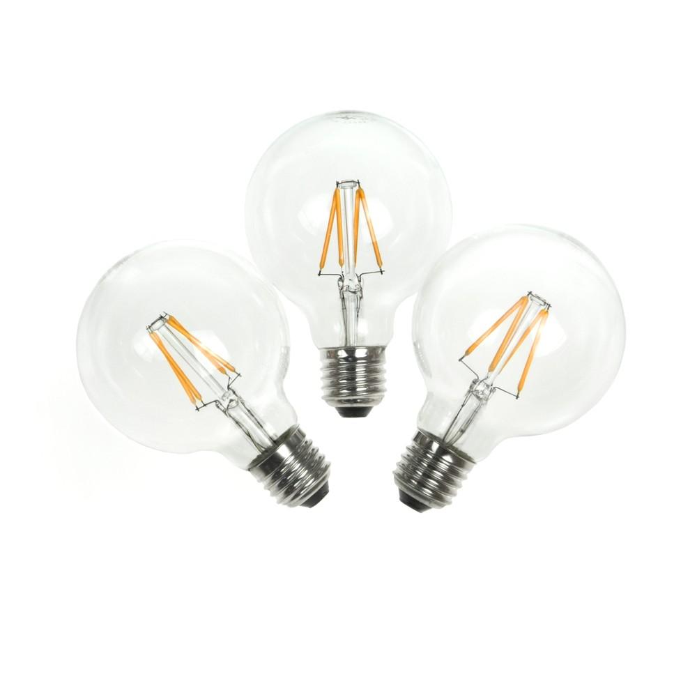 Sada 3 LED žiaroviek Bulb Attack POP Crown, 4 W