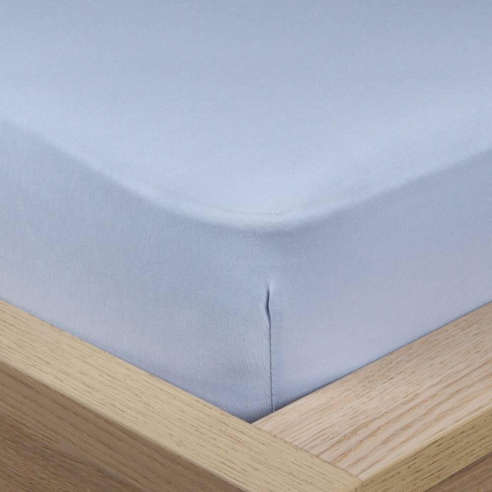 4Home Jersey prestieradlo s elastanom modrá, 160 x 200 cm