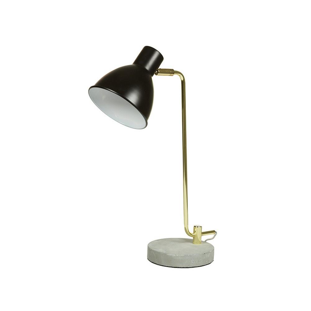 Stolová lampa s betónovou základňou Santiago Pons Roberto