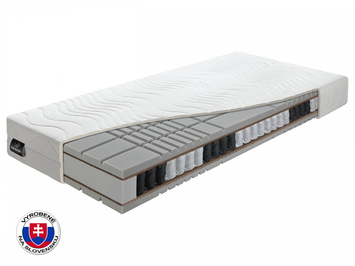 Taštičkový matrac Benab London 200x160 cm (T4)