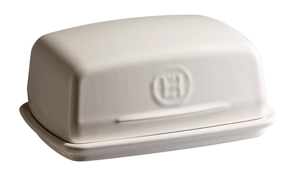 Dóza na maslo krémová Clay, Emile Henry