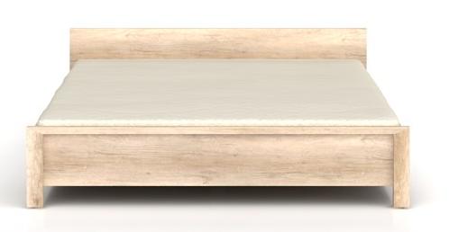 Manželská posteľ Kaspian LOZ/160   Farba: dub monument