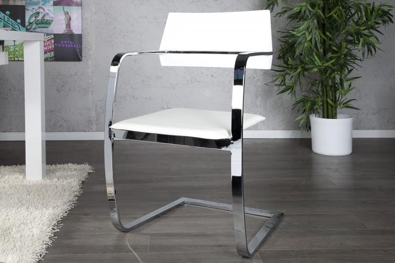 Stolička UNIQUE - biela