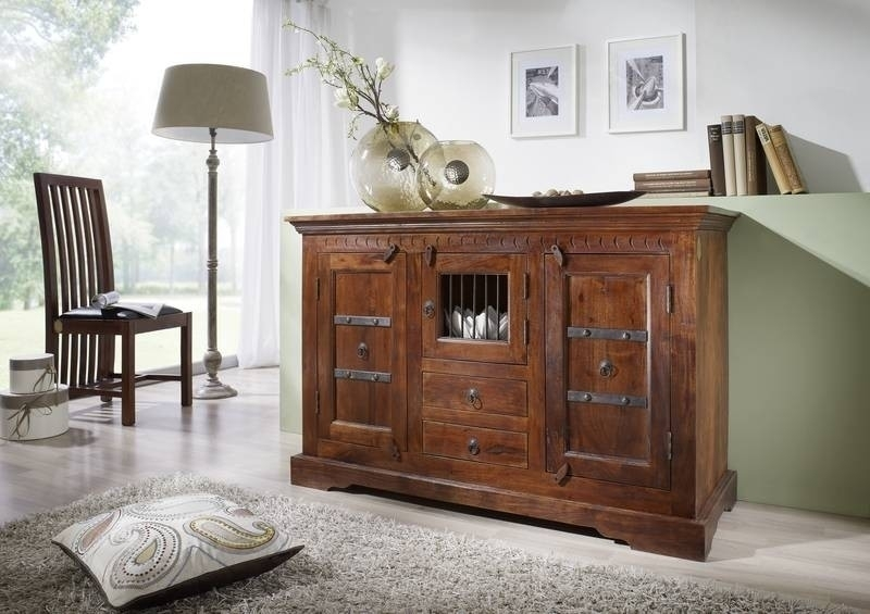 OXFORD #412 Kolonial komoda masívny agátový nábytok