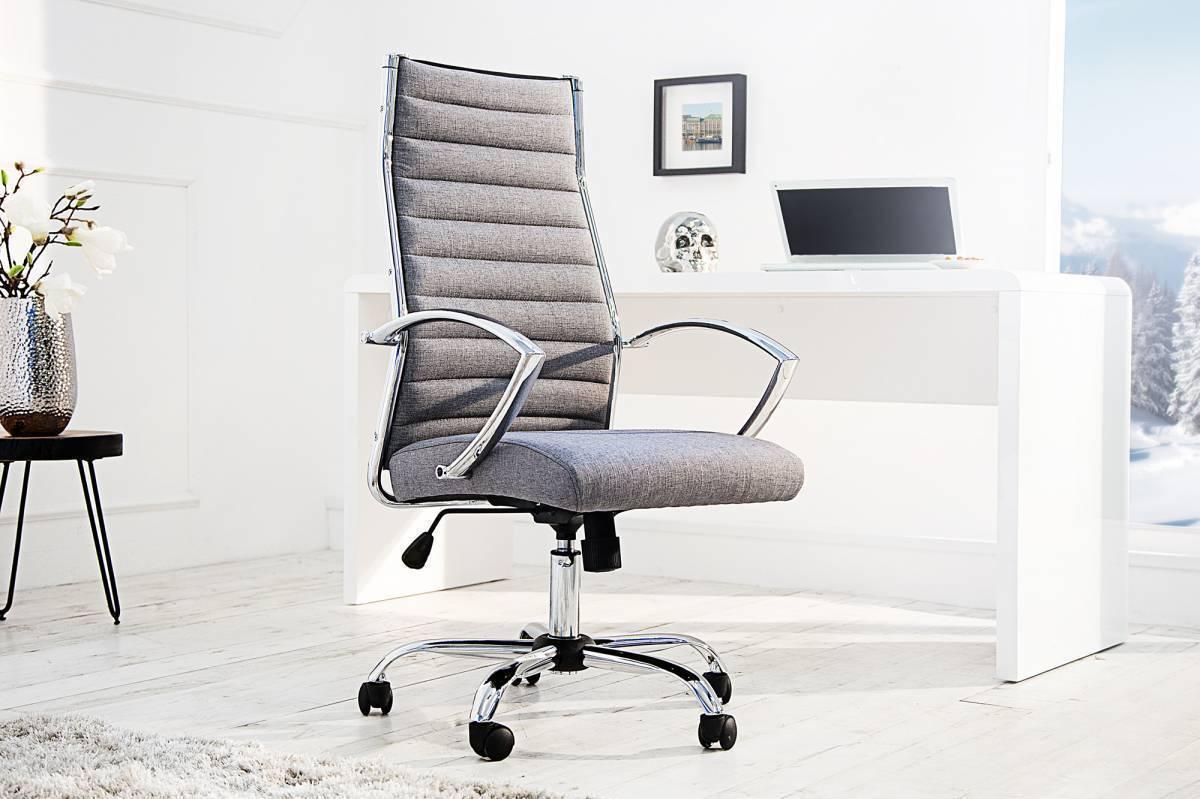 Kancelárska stolička DEALS - sivá