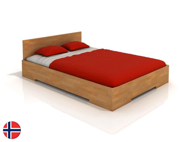 Manželská posteľ 200 cm Naturlig Kirsebaer High (buk) (s roštom)