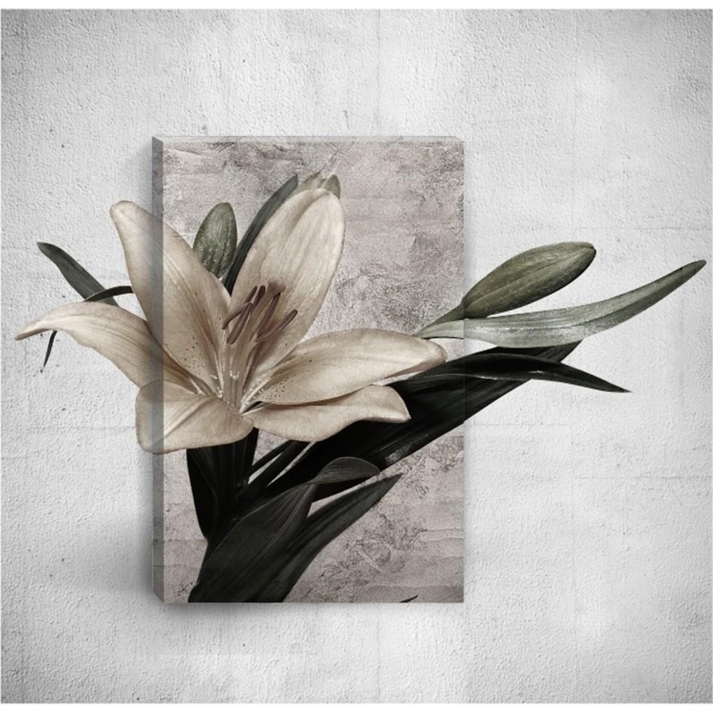 Nástenný 3D obraz Mosticx Flower, 40×60 cm