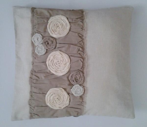 dekoračný vankúš Naturedesign z prírodnej tkaniny 40 x 40 cm