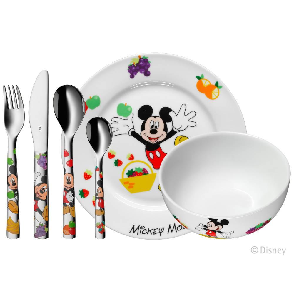 Detský jedálny set Mickey Mouse WMF 6 ks