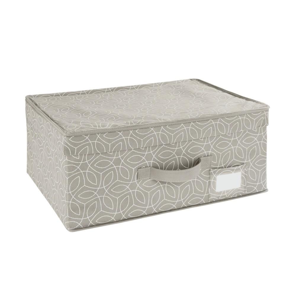 Béžový úložný box Wenko Balance, 44 x 33 x 19 cm