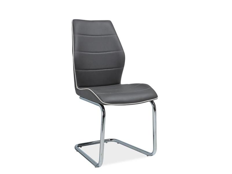 HK-331 jedálenská stolička, sivá
