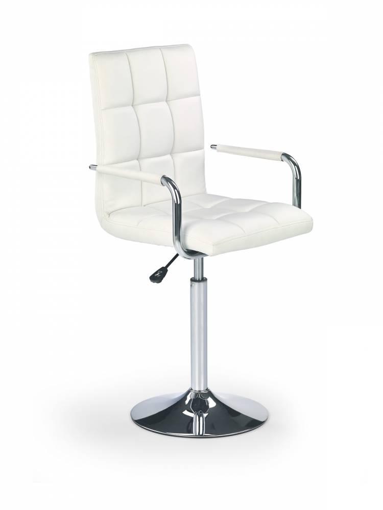 Barová stolička Gonzo biela