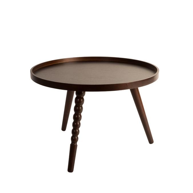 Drevený stolík Dutchbone Arabika, 58,5cm